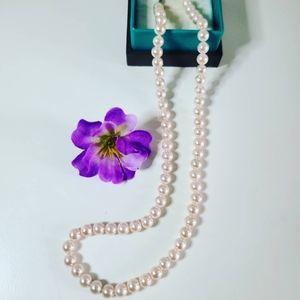 Majorica Pearl round necklace ✨